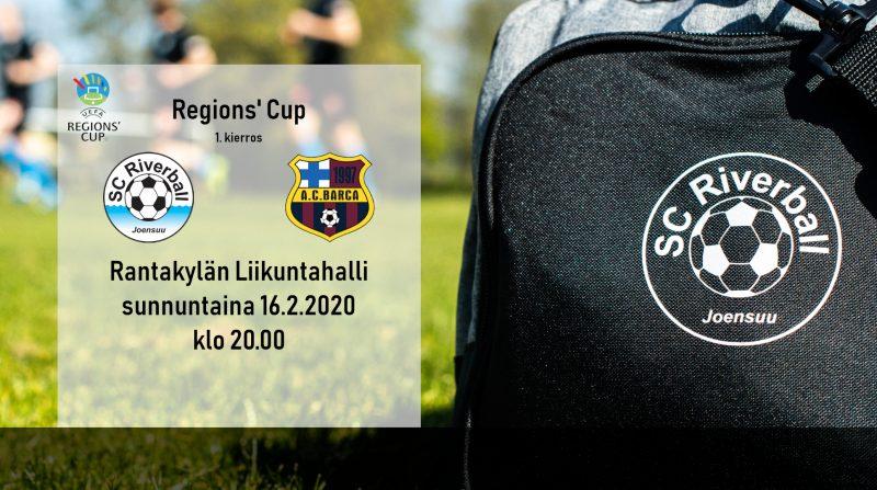 Regions' Cup käyntiin sunnuntaina