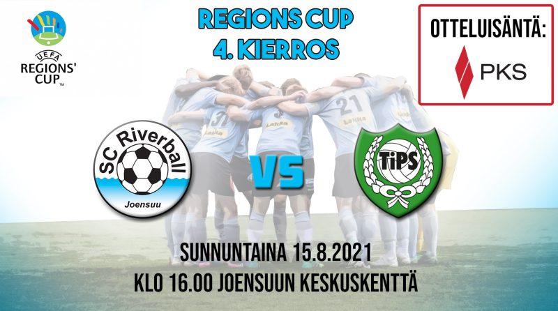 Regions' Cup jatkuu sunnuntaina